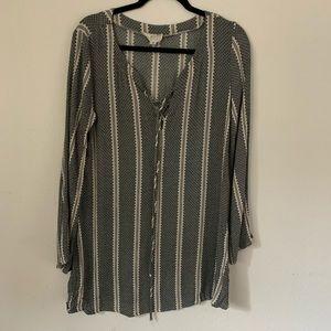 L.A. Hearts Tribal Print Tunic/Dress